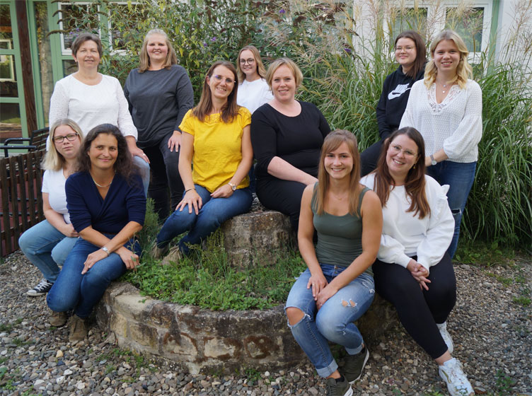 Kita-Team 2021 (Foto: Frau Mainusch)
