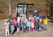 """Oma und Opa-Woche in der KitaPlus """"Unter der Burg"""" (Foto: Larissa Thamm)"""