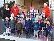 Wenn Kinderaugen leuchten - Geschenk mit Herz 2018 (Foto: Svenja Neubauer)